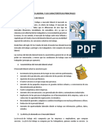 Mercado Laboral y Sus Caracteristicas Principales