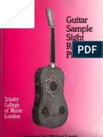 Guitar Sample Sight Reading Pieces (Trinity College of Music)