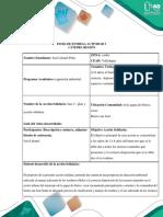 Ficha de Entrega Actividad