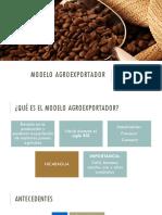 Modelo Agroexportador en Nicaragua