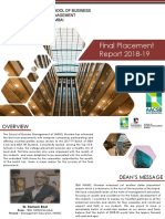 Final Placement Report 2018-19