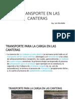 El Transporte en Las Canteras 1 2019-2020