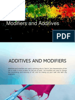 Additives and Modifiers