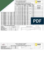2. Dosificación H 16 Tipo C 260 Cemento IP 30