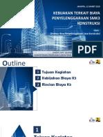 Presentasi Biaya SMK3  Konstruksi