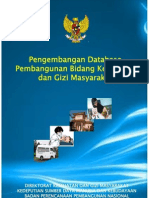 2009 Bappenas Database Pembangunan Kesehatan Dan Gizi Masyarakat Tahun 2009