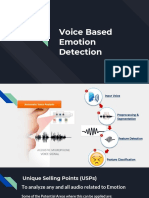 Voice Based Emotion Detection
