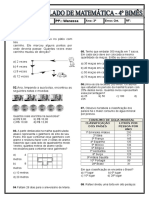 Simulado Matematica 5 Ano 4 Bimes 19