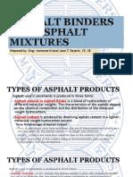 asphalt binders