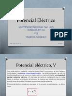 Clase 04 Potencial Electrico