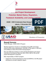 USAID-ICED II_01 Biomass Potential, Market, Feedstock, Lesson Learnt__191111