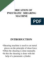 Pneumatic Sheet Metal Shearing Machine