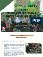 una infancia virtual