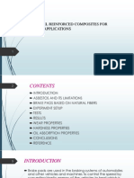 Wear Properties of Palm Kernel Reinforced Composites for 2