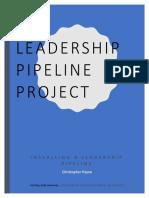 leadership pipeline project