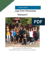 Homestay Programme 2019 PDF