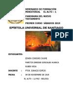 Epístola Universal de Santiago