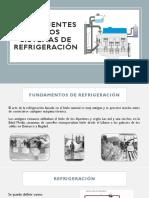 Componentes de Los Sistemas de Refrigeracion