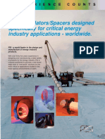 Casing Isolators-Spacers Designed Specifically for Critical Energy Industry Applications - Worldwide