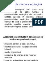 Sisteme de Marcare Ecologică