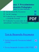 Instrumentos y Procedimientos TEPSI Y DENVER
