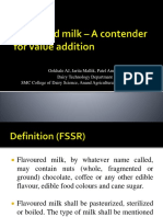 Flavoured milk – A contender for value addition.pptx