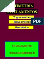 nivelamento geometrico