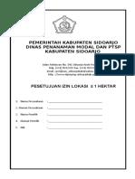 Form Ijin Lokasi Kurang 1hertar1