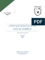 Por Qué México Es Un País de Pobres