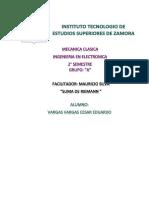Suma de Riemann y Teorema Fundamental Del Cálculo