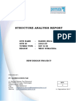 Structure Analysis Report SST 42 M