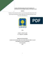 TiO 2 -SiO 2 HASIL SINTESIS DARI ABU DAUN BAMBU DAN PREKURSOR TITANIUM (IV) BUTOKSIDA SEBAGAI FOTOKATALIS SKRIPSI.pdf
