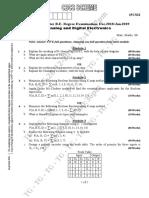 DSA model question paper