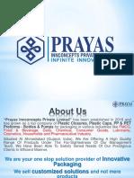 Prayas Catalogue
