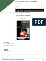Psicologia y Economia _ Ismael Quintanilla _ Comprar Libro 9788437060507