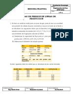 Segunda Practica - Perdidas de Presion en Lineas de Produccion