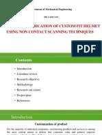 Custom Fit of Helmet Upload