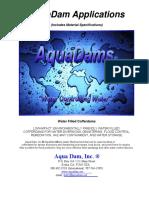 AquaDam Applications