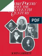 John Garrett (Auth.) - British Poetry Since the Sixteenth Century_ a Students' Guide-Palgrave Macmillan UK (1986)
