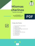 Miomas Octubre 2019