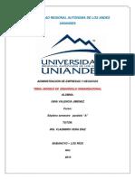 Resumen de desarrollo organizacional