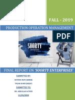 Soorty Enterprises Report