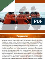Prinsip-Prinsip Penanggulangan Bencana