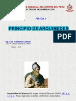 PRINCIPIO ARQUIMIDES