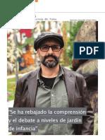 Entrevista en Pasos Magazine