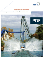 Water Park Brochure Data