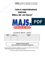 Operating & Maintenance Manual Mikro Air Jet Sieve