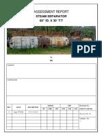 Draft-steam Separator Assesment Report