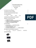 BAL JAGAT _computer Paper