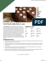 Torta Pan Di Stelle - Agrodolce